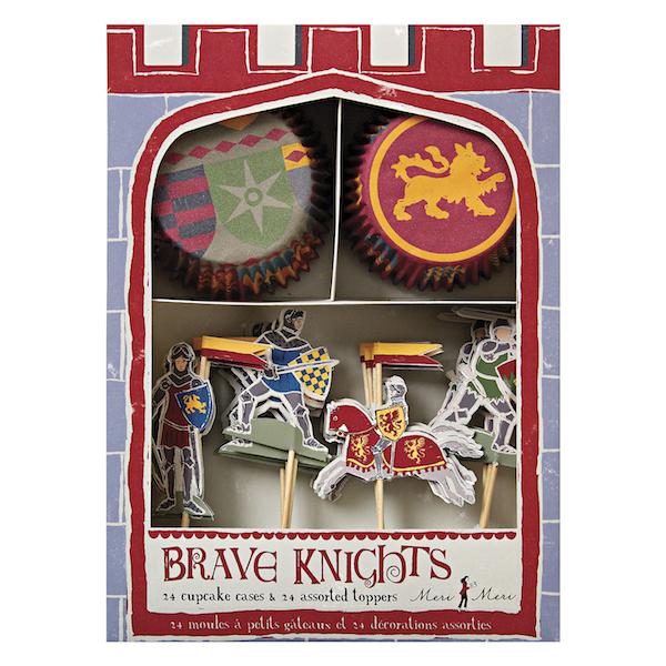 WannaWonders | Meri Meri | Brave Knights | cupcake set