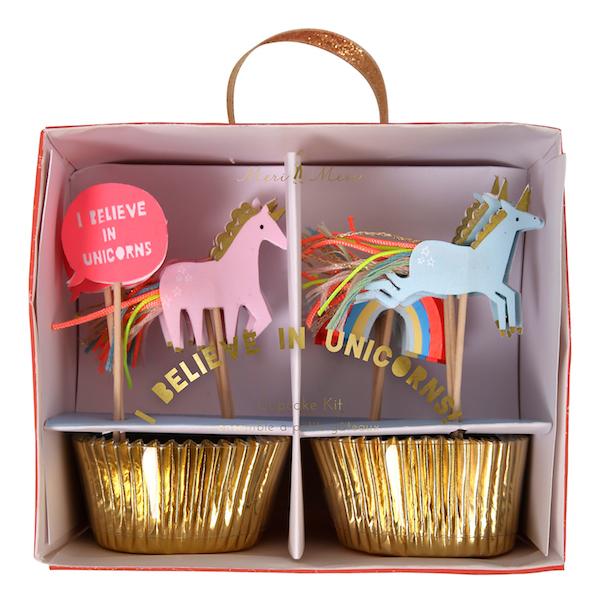 WannaWonders | Meri Meri | Unicorn cupcake kit