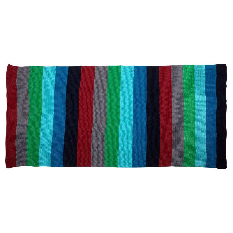 WannaWonders | Colorique | Handgebreid plaid groen