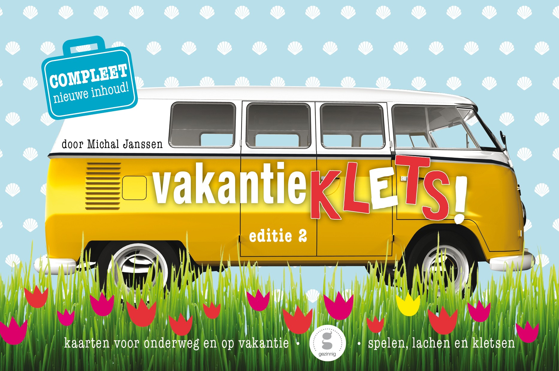 WannaWonders | Gezinnig Kletsboeken | Vakantieklets! editie 2
