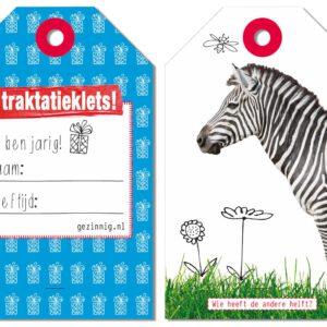 WannaWonders | Gezinnig Kletsboeken | Traktatieklets! 3 tot 6 jaar