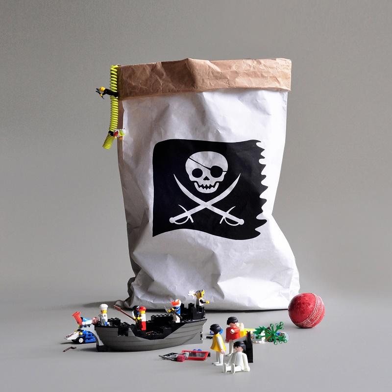 WannaWonders | Kolor | Opbergzak Piraten vlag