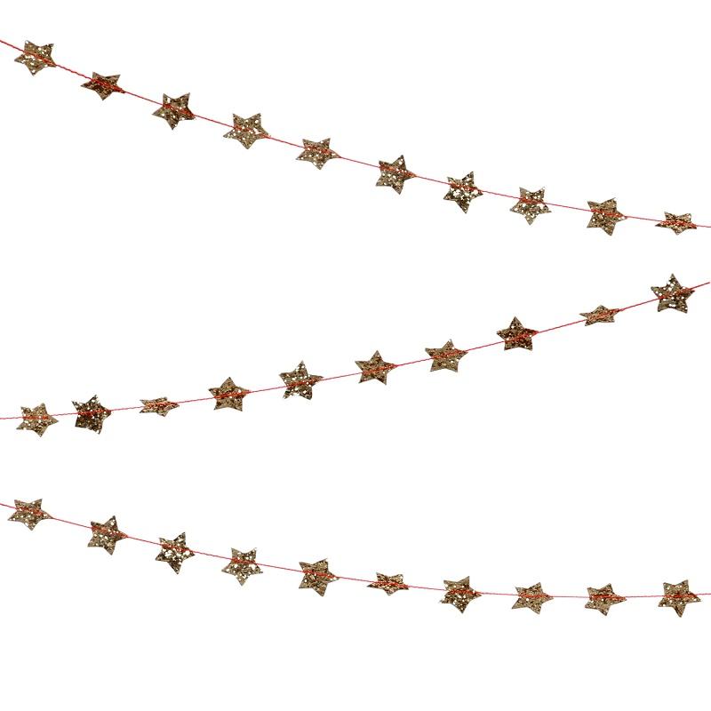 Meri Meri Sterren mini slinger goud