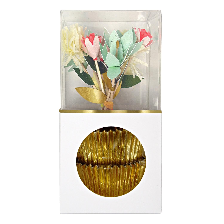 Meri Meri | cupcake set bloemen