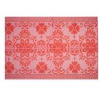 Colorique   all-weather vloerkleed   rood combi