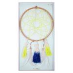 Meri Meri | droomvanger neon geel | verpakking