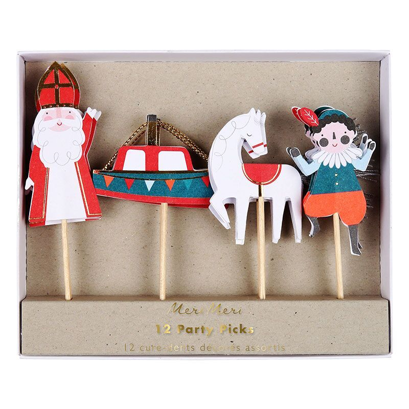 Meri Meri Sinterklaas prikkers